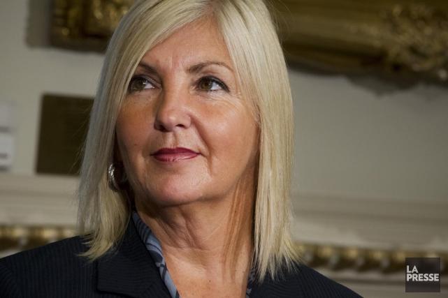 La députée libérale Maryse Gaudreault, présidente du Cercle... (PHOTO IVANOH DEMERS, LA PRESSE)
