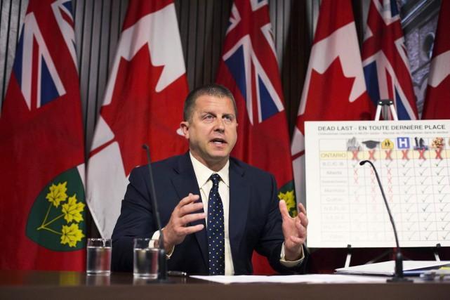 André Marin, l'ombudsman de l'Ontario, a émis des... (La Presse Canadienne)