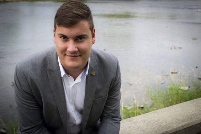 Yanéric Bisaillon, adjoint parlementaire de la députée néodémocrate... (photo tirée de sa page Facebook)