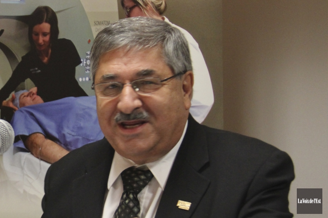 Le président du conseil d'administration du CSSSHY, Jean-Marc... (photo archives La Voix de l'Est)