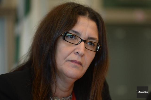 Nadia Ghazzali faisait au journalLe Devoir, en fin... (Photo: Sylvain Mayer, Le Nouvelliste)