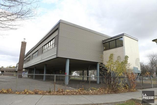 L'école Sainte-Catherine-de-Sienne.... (PHOTO MARTIN CHAMBERLAND, LA PRESSE)