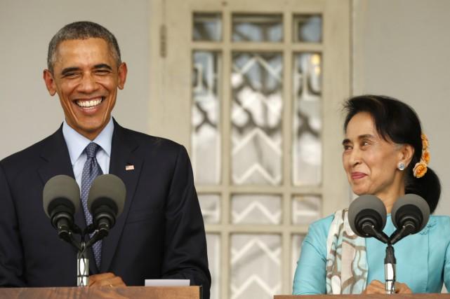 Deux ans après la première visite d'Obama à... (PHOTO KEVIN LAMARQUE, REUTERS)