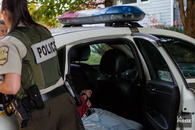 Une information transmise à Échec au crime a permis de démanteler une serre de... (Archives La Presse)