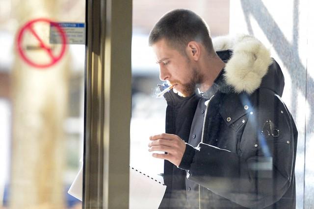 Deux des quatre présumés voleurs du Future Shop de Chicoutimi ont comparu une... (Jeannot Lévesque)