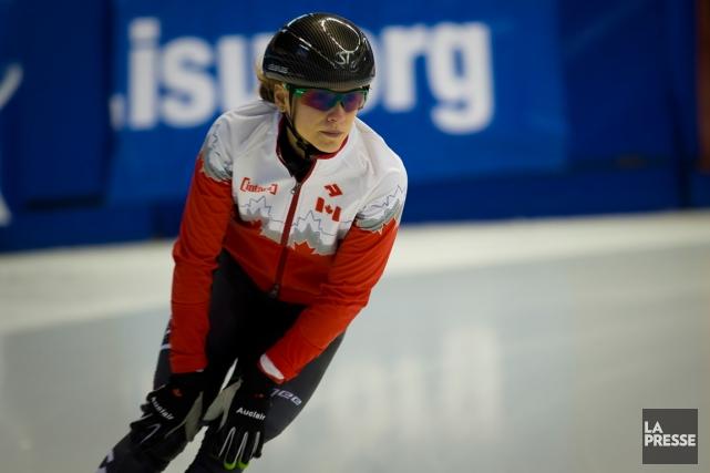Kasandra Bradette aimerait atteindre les demi-finales des épreuves... (Photo André Pichette, La Presse)
