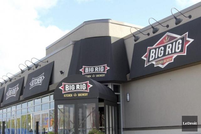 Le Big Rig, dans l'ouest d'Ottawa... (Étienne Ranger, LeDroit)