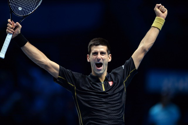 Novak Djokovic... (Photo Glyn Kirk, AFP)