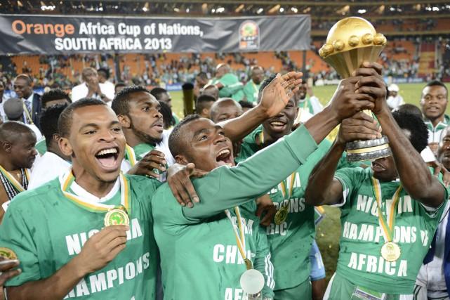 Le Nigeria a remporté la dernière Coupe d'Afrique... (Photo Stéphane de Sakutin, archives AFP)