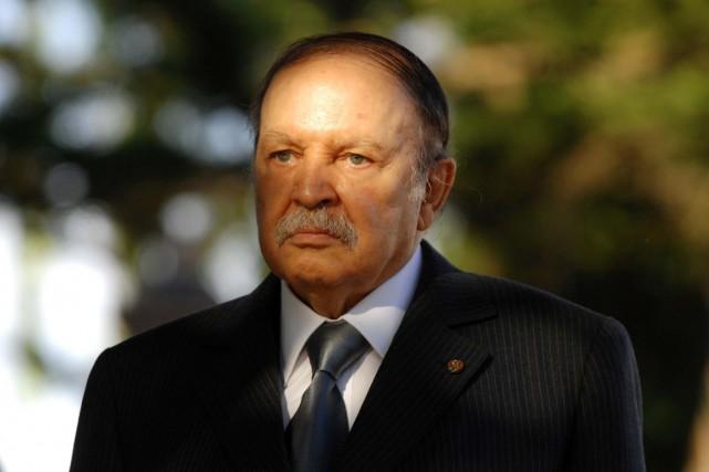 Le président algérien Abdelaziz Bouteflika... (PHOTO FAROUK BATICHE, ARCHICES AFP)