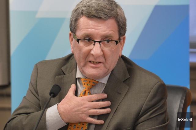 Le maire Régis Labeaume, lors du conseil municipal... (Photothèque Le Soleil, Pascal Ratthé)