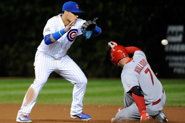 Les Cubs de Chicago seront les hôtes des Cardinals de St. Louis lors du tout... (Photo David Banks, USA Today Sports)