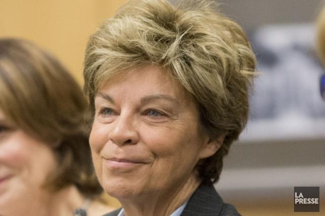 L'ancienne députée de Rosemont a été piquée au... (PHOTO ALAIN ROBERGE, ARCHIVES LA PRESSE)