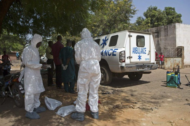 Au Mali, dernier pays touché par le virus,... (Photo Reuters)
