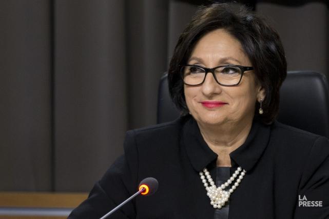 La commissaireFrance Charbonneau.... (PHOTO IVANOH DEMERS, ARCHIVES LA PRESSE)