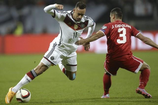 L'Allemagne, à la traîne dans le groupe D après des débuts difficiles, a écrasé... (Photo AFP)