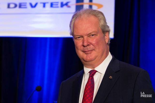 Gilles Labbé,président et chef de la direction d'Héroux-Devtek.... (PHOTO SIMON GIROUX, ARCHIVES LA PRESSE)