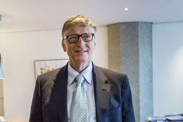 Bill Gates est l'actionnaire principal du CN, entreprise... (PHOTO AFP, VALERIE KUYPERS)