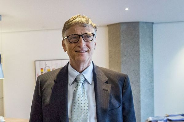 Bill Gates... (PHOTO AFP, VALERIE KUYPERS)