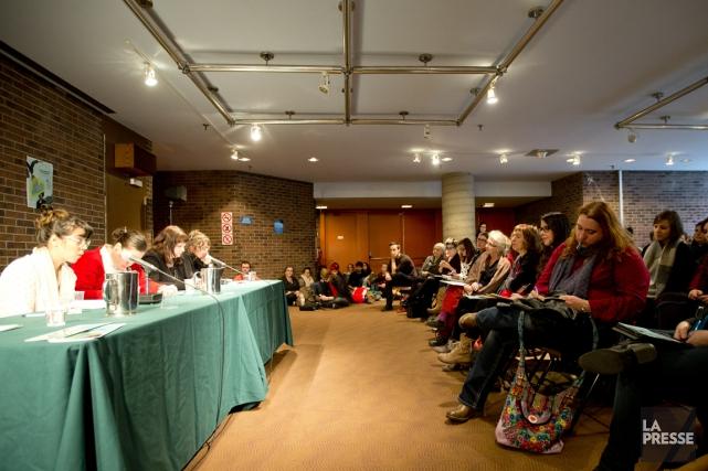 Le contexte des dénonciations anonymes pour harcèlement sexuel... (PHOTO MARCO CAMPANOZZI, LA PRESSE)