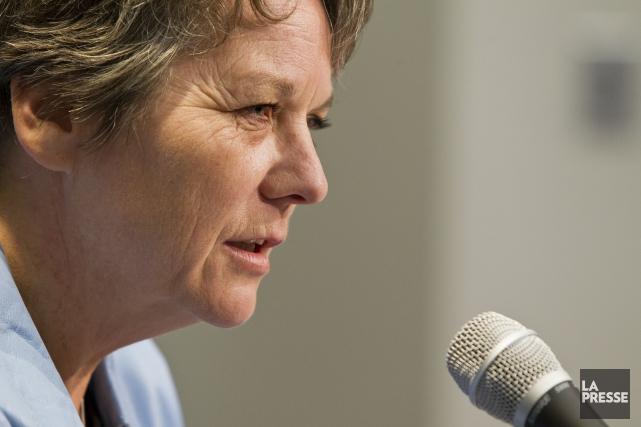 Ciblée par une plainte en déontologie, la mairesse de... (Photo  Edouard Plante-Fréchette, archives La Presse)
