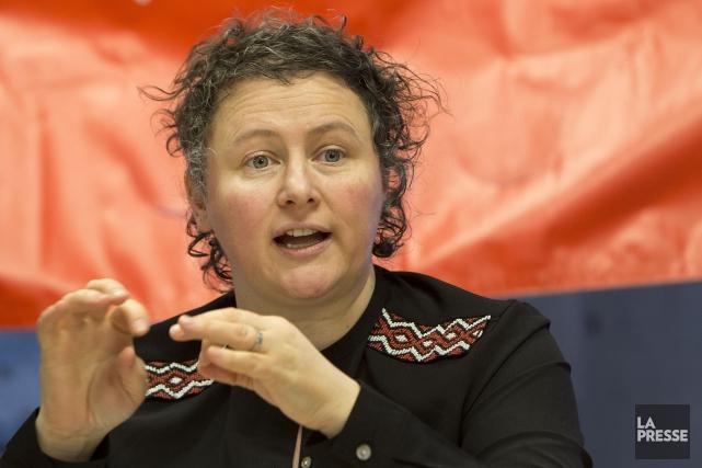 Alexa Conradi, présidente de la Fédération des femmes... (PHOTO ROBERT SKINNER, ARCHIVES LA PRESSE)