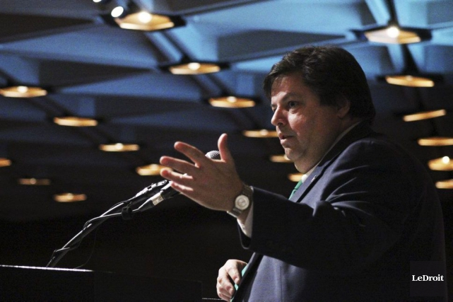 Le député d'Ottawa-Vanier, Mauril Bélanger, est intervenu 223... (Étienne Ranger, archives LeDroit)