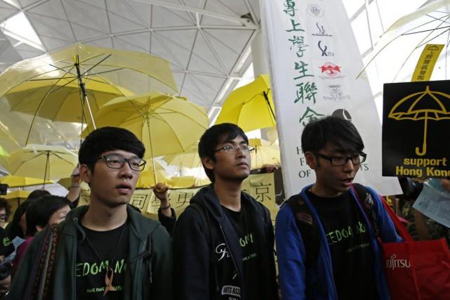 Le secrétaire général de la Fédération, Alex Chow... (PHOTO VINCENT YU, AP)