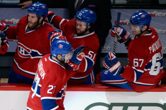 Les hommes de Michel Therrien ont remporté leurs... (PHOTO ERIC BOLT, ARCHIVES USA TODAY)