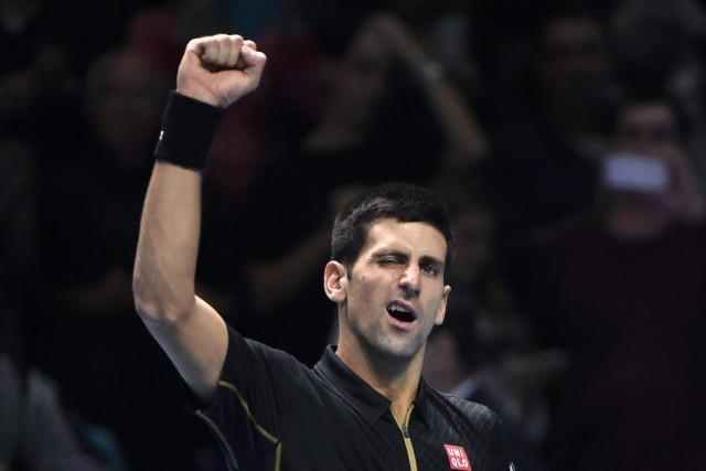 NovakDjokovic a décroché une 14e victoire consécutive aux... (PHOTO TOBY MELVILLE, REUTERS)