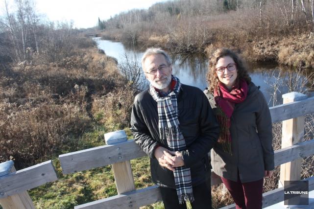Le réseau de sentiers Missisquoi Nord s'étend sur... (La Tribune, Jean-François Gagnon)