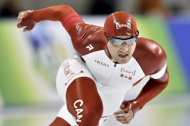 Vincent De Haître a remporté deux médailles d'or... (Archives AFP)