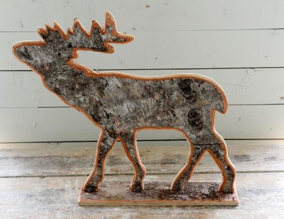 Une silhouette de renne à la boutique Les...