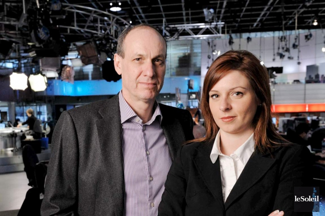 Les reportages d'Alain Gravel et de Marie-Maude Denis... (Phothèque Le Soleil)