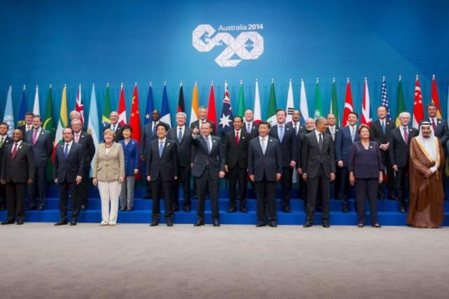 L'Australie, pays organisateur de ce sommet surtout marqué... (Photo Pablo Martinez Monsivais, AP)