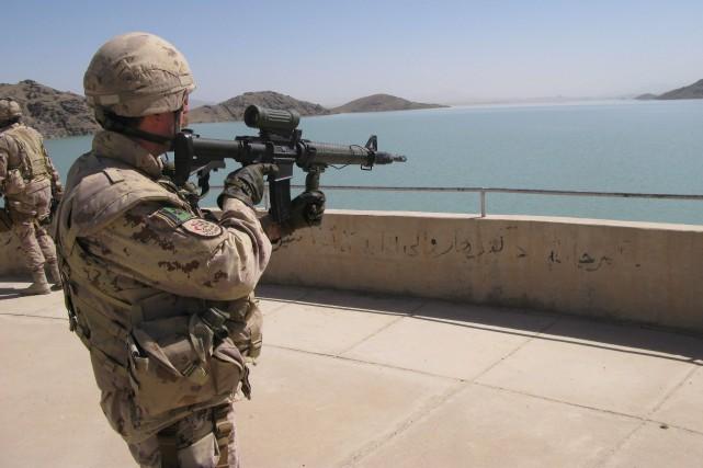Un rapport portant sur la restauration du barrage Dahla en Afghanistan soutient... (Photo Colin Perkel, PC)
