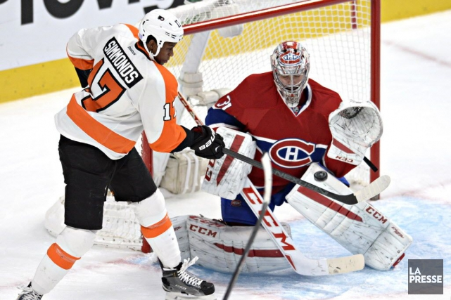 Relisez notre clavardage du match entre le Canadien et les Flyers de... (Photo Bernard Brault, La Presse)