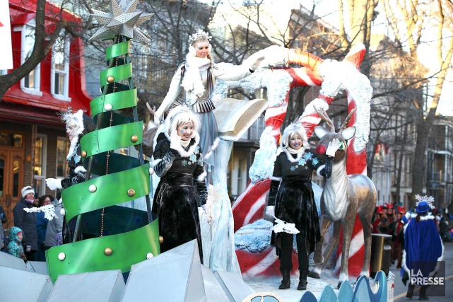 Les rues de Saint-Roch, Saint-Sauveur et Limoilou ont été envahies par des... (Photo fournie par lesfestifs.com)