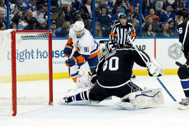 Lightning de Tampa Bay a stoppé à cinq... (Photo Kim Klement-USA TODAY Sports)