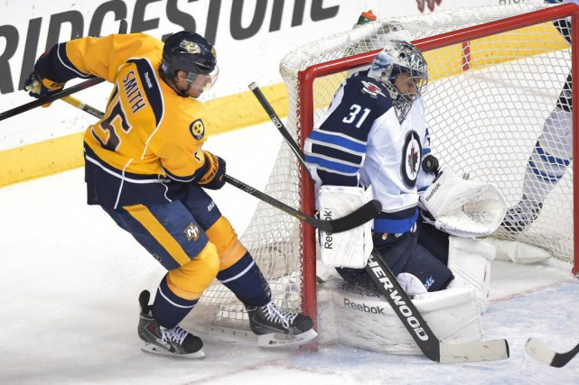 Les Predators de Nashville ont défait les Jets... (Photo Don McPeak-USA TODAY Sports)