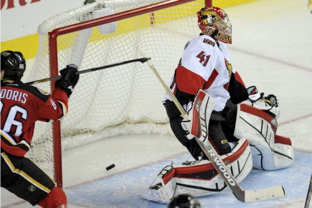 Josh Jooris (86) a déjoué Craig Anderson sur une... (PHOTO CANDICE WARD, USA TODAY)