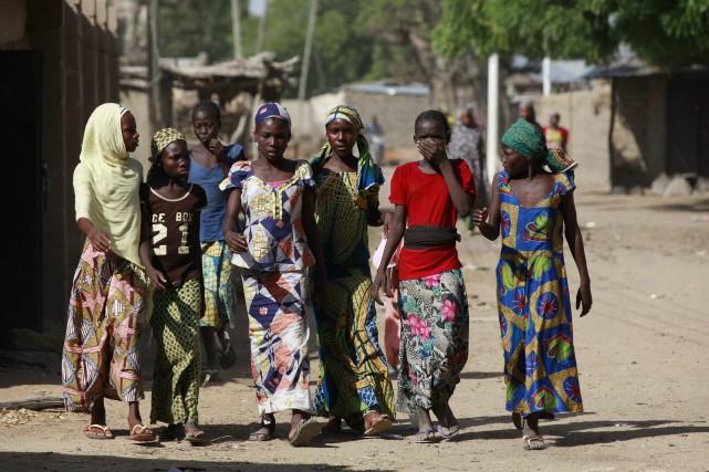 Cette ville de l'État de Borno était tombée... (Photo archives AP)