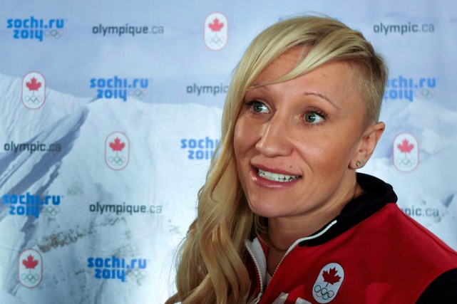 Kaillie Humphries... (PHOTO PAUL CHIASSON, ARCHIVES PC)