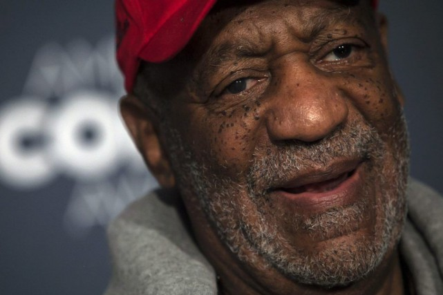 Bill Cosby est au centre de l'attention des médias... (PHOTO ERIC THAYER, REUTERS)