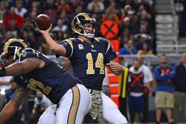 Les Rams de St. Louis ont continué de démontrer à leurs adversaires qu'ils... (Photo USA Today Sports)