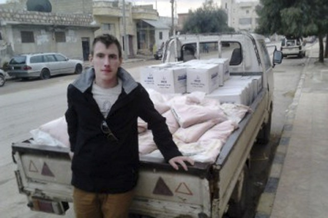 Peter Kassig... (PHOTO ARCHIVES AP)
