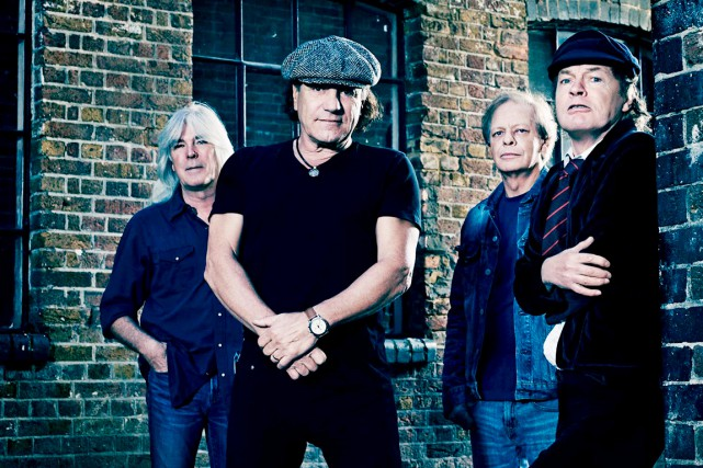 Le groupe hard rock australien AC/DC reprendra la route en 2015 pour fêter ses... (Photo fournie par Sony)