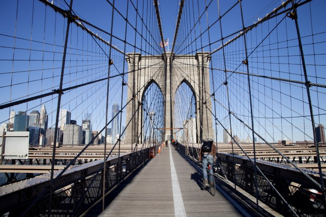 Le pont Brooklyn... (Photo iStockphoto)