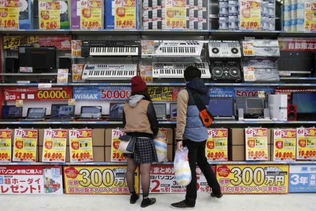 La troisième puissance économique mondiale était sortie du... (PHOTO YUYA SHINO, REUTERS)