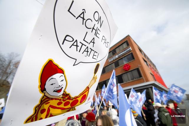 «On peut peut-être se dire que les manifestations qui ne sont pas organisées... (Imacom, Julien Chamberland)